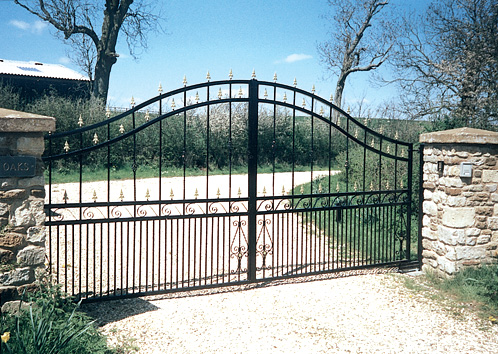 Pisces Metal Gate Style